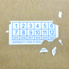 Adhesive Fragile Anticounterfeit Security Eggshell Label Sticker Paper